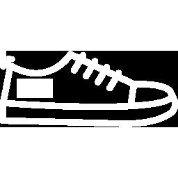 Calzado blanco alimentación