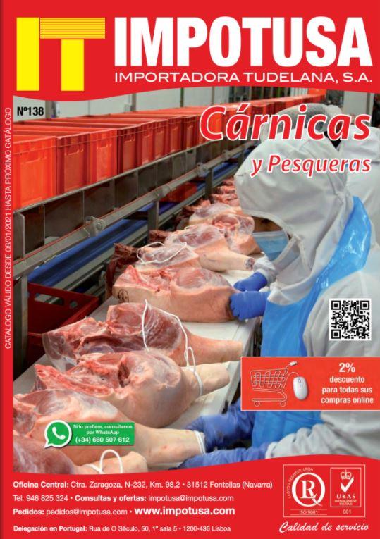 Catálogo IMPOTUSA Cárnicas 136