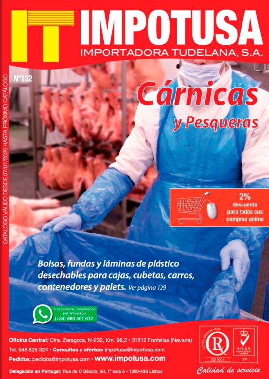 Catálogo IMPOTUSA Cárnicas 130